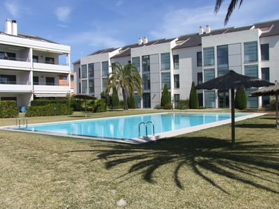 Photo for Isleta Marina, 2 bed-2 bath-700m to beach-80m2 garden-UK TV-FREE WIFI-aircon