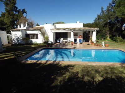 Photo for Beautiful villa with garden and pool,quiet area !