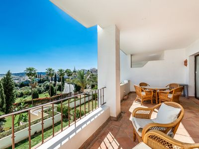 Photo for Beautiful 3 bedroom apartment in Mijas Golf