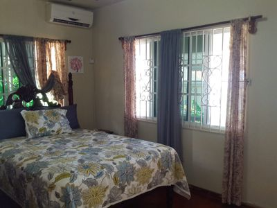 Photograph of Bedroom with queen size bed