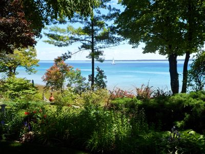 Photo for Suttons Bay Waterfront Home on West Bay