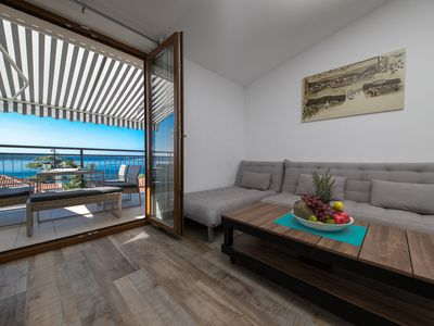 Photo for Niko Apartments A 2, sea view, 62 m2, perfect location