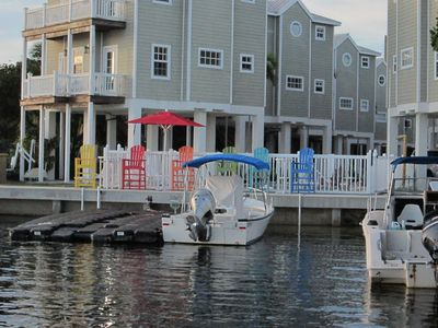 Photo for Beautiful home in oceanfront resort with pool & dock, 16 miles from Key West