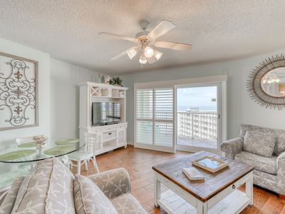 Photo for Gulf-view condo w/ beach access, private balcony, & shared indoor/outdoor pools