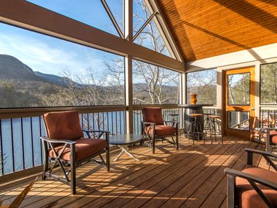 Photo for Over the Edge - Mr Lake Lure Vacation Rentals