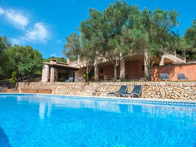 Photo for Spacious and well-kept Finca, in the northeast of Mallorca.