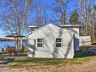 Photo for 2BR Lakefront Pine River Cabin w/Fire Pit & Views