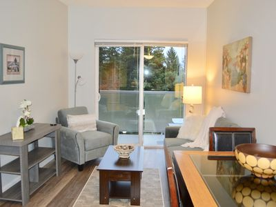 Photo for *Cozy Creekside Beautifully Renovated Condo near the Beach and Walking Trails