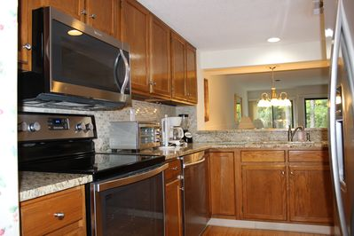 Kitchen Updated with Stainless Steel Appliances