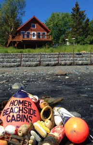 Photo for Beautiful Homer Beachside Cabins with room to park your boat