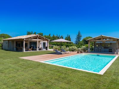 Photo for VILLA LES FANAUX, BEAUTIFUL NEW VILLA with Swimming pool in RAMATUELLE