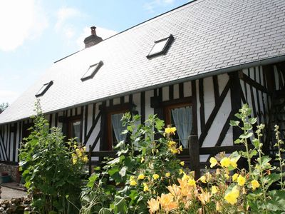 Photo for Charming Norman house just 20 minutes from Honfleur and the Côte