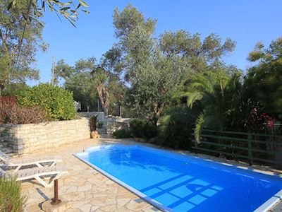 Photo for Nicoletta (Nr Loggos) - Pretty cottage with a pool just above Marmari beach