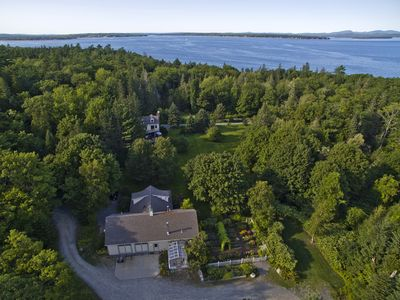 Photo for Tranquility Carriage House on beautiful  estate on Frenchman's Bay