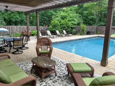 Photo for Large 4BR, Private Pool, 4 Miles to Downtown, Minutes from Swamp Rabbit!!