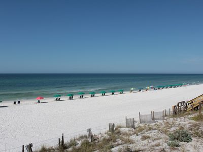 Photo for REACH OUT AND TOUCH THE OCEAN GULF FRONT THREE BEDROOM THREE BATH FREE WIFI