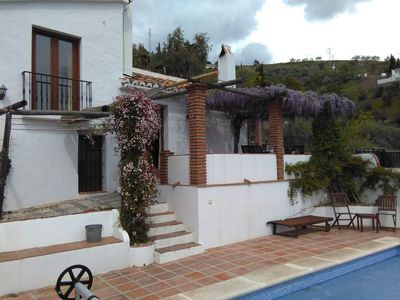 Photo for Beautifully Restored Farmhouse with Pool near Cómpeta in Andalusia