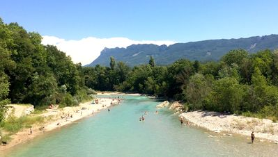 Photo for Gite with private beach - Drome Vercors