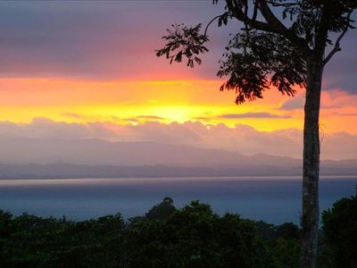 Photo for Mountains, rainforest and whitewater ocean views. The best CR experience.