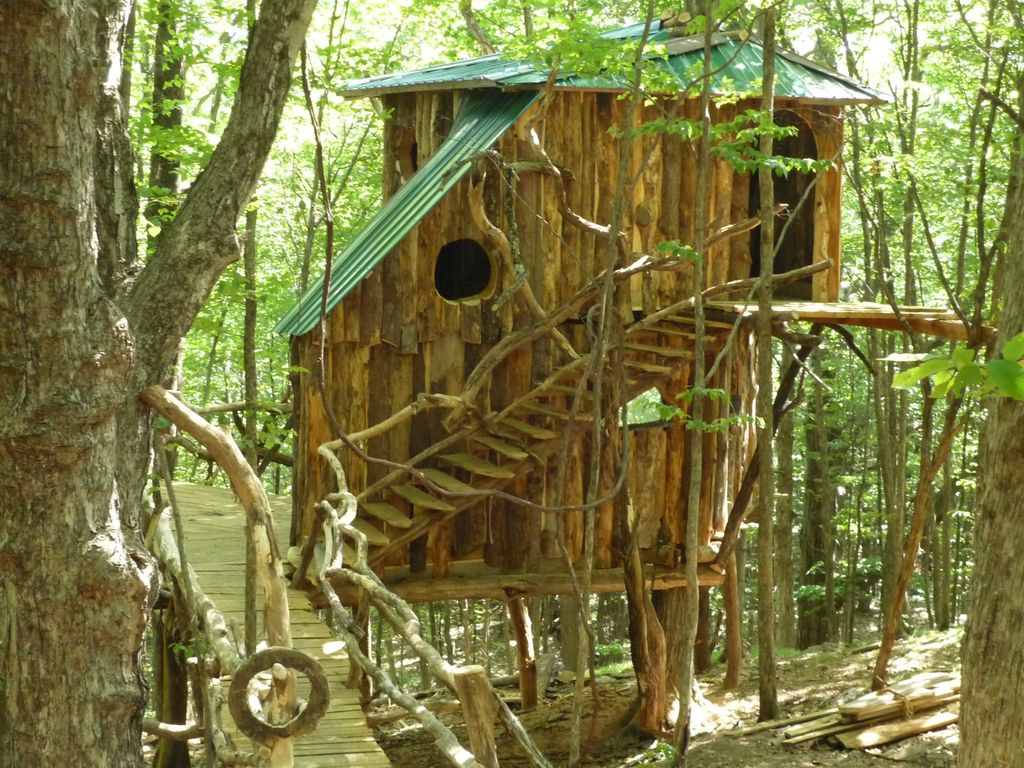 Treehouse Pictures Vermont Treehouse The Hermit Thrush Treeho Vrbo