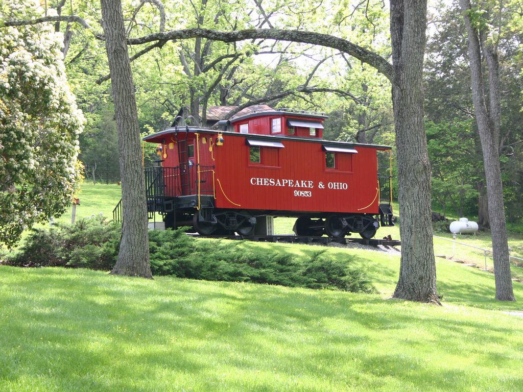 1926 c o caboose 90853 natural bridge shenandoah valley for Cabin cabin vicino a lexington va