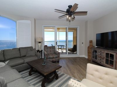 Photo for Beach Colony West 11B- Beach Front unit with large terrace & amazing views!