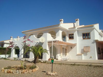 Photo for SUPERB VILLA LA AZOHIA - 7 people, ground floor at 400m beach of San Gines