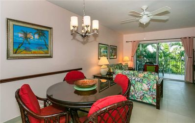Photo for Make yourself right at home in this 2-bedroom, well equipped condo on Seven Mile Beach
