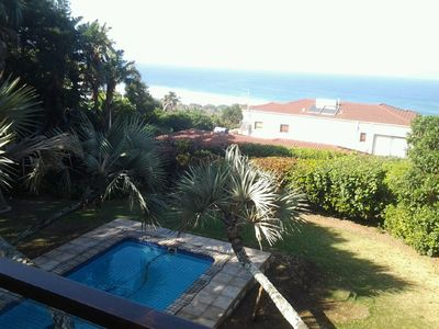 Photo for Seaside villa in tropical garden, great sea view, ideal for families & couples