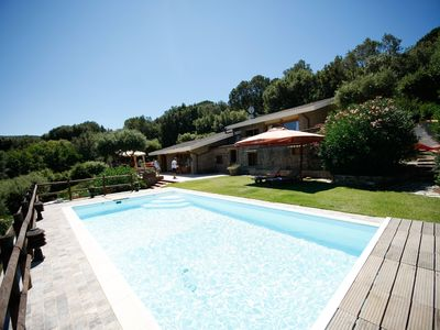 Photo for Wonderful villa with pool and sea view in Punta Ala, Grosseto, Tuscany