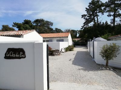 Photo for Studio on one level, quiet pine forest, private patio, south facing, swimming pool
