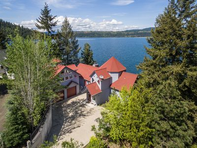 Photo for Lakefront Home w/Pvt Dock in Coeur d'Alene Area!