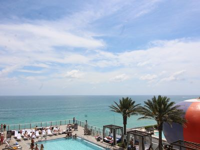 Photo for Hyde Beach & Residences Luxurious Ocean View 1 Bed 1 Bath 750 SQ FT