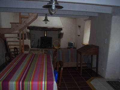 Photo for Stone house with garden, 2 bedrooms, 4 persons, fully equipped