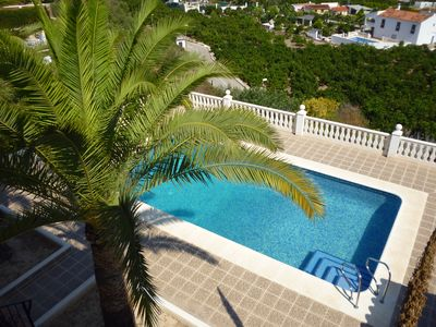 Photo for Beautiful 5 Bedroom Detached Villa with Air Con, Private Pool, Parking and Wifi