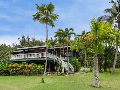Photo for Private Beach Home steps away from Anini Beach