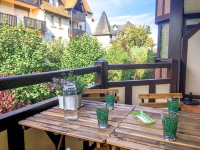 Photo for Deauville Apartment, Sleeps 4 with Free WiFi