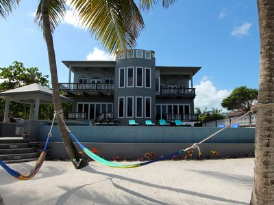 Photo for SUMMER & FALL SPECIAL! An unBELIZEable home...Barefoot beachfront luxury!