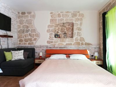 Photo for A studio in an old traditional Montenegrin stone house