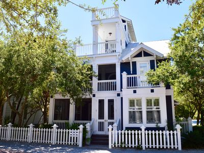 Photo for Tower w/Amazing Gulf Views, Sun deck, 3 BR 1st Block off Beach in Seaside.