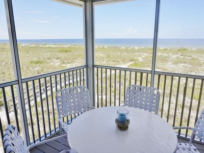 Photo for Charming Gulf Front Villa with an Exceptional View of the Surf!  B3122A