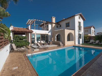 Photo for Villa Kami,Stunning 3BDR Ayia Thekla Villa with Private Pool, Close to the Beach