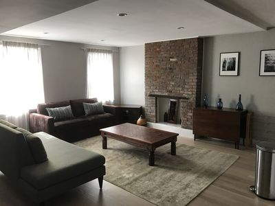 Photo for Fully renovated 2BR sleeps 6, with outdoor space in the heart of Hoboken DT
