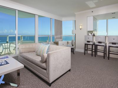 Photo for Fontainebleau Hotel Oceanfront 1 Bedroom Suite