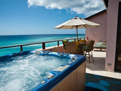Photo for Elegant Barbados Rooftop Penthouse Overlooks Caribbean Sea