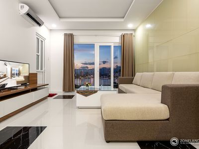 Photo for Modern Mornachy Apartment with great gorgeous Song Han river view