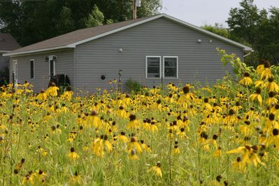 Peace on the Prairie is a studio apartment attached to our garage.