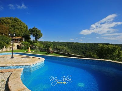 Photo for Stone Villa in Central Istria ideal for big groups