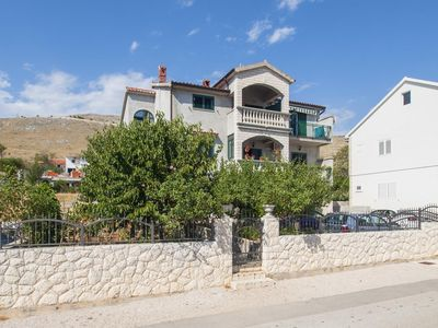 Photo for Two bedroom apartment with terrace and sea view Grebaštica (Šibenik)