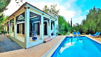 Photo for Beautiful contemporary villa with secluded private pool
